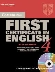 Cambridge First Certificate in English CD-ROM