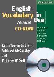 English Vocabulary in Use: Advanced - book + CD-ROM