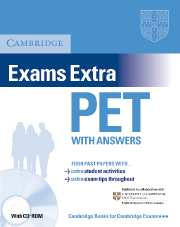 Cambridge Exams Extra PET CD-ROM