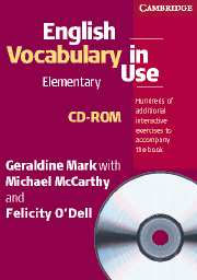 English Vocabulary in Use: Elementary - book + CD-ROM