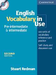 English Vocabulary in Use: Pre-intermediate - book + CD-ROM